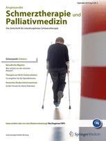 Angewandte Schmerztherapie und Palliativmedizin 3/2013