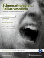 Angewandte Schmerztherapie und Palliativmedizin