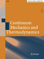 Continuum Mechanics and Thermodynamics