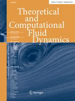 Theoretical and Computational Fluid Dynamics
