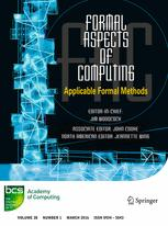 Formal Aspects of Computing