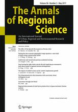 The Annals of Regional Science 3/2017