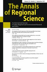 The Annals of Regional Science