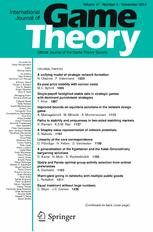International Journal of Game Theory