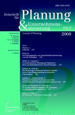 Zeitschrift für Planung & Unternehmenssteuerung