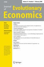 Journal of Evolutionary Economics