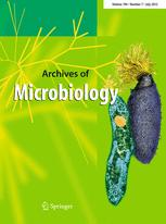 Archives of Microbiology