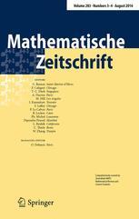Mathematische Zeitschrift