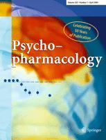 Psychopharmacology