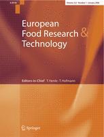 Zeitschrift für Lebensmitteluntersuchung und -Forschung A