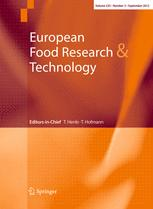 European Food Research and Technology