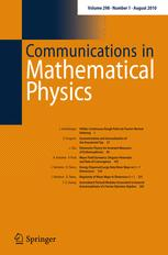 Communications in Mathematical Physics