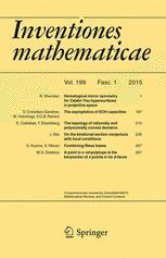 Inventiones mathematicae