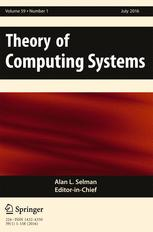 Theory of Computing Systems
