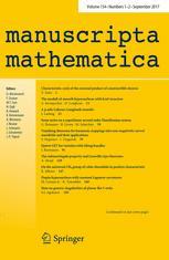 manuscripta mathematica