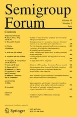 Semigroup Forum