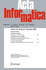 Acta Informatica