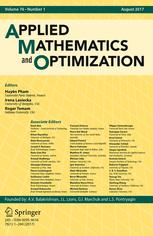 Applied Mathematics & Optimization