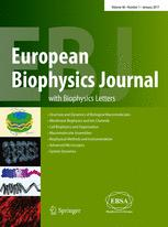 European Biophysics Journal