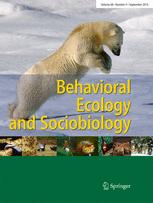 Behavioral Ecology and Sociobiology