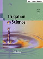 Irrigation Science