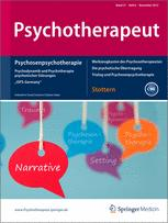 Psychodynamische Psychotherapie der Psychosen