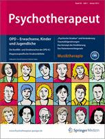 Psychotherapeut 1/2013