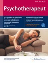 Psychotherapeut