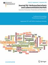 Journal of Consumer Protection and Food Safety