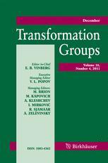 Transformation Groups