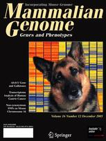 Mammalian Genome