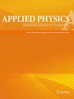 Applied Physics A Solids and Surfaces