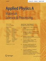 Applied Physics A