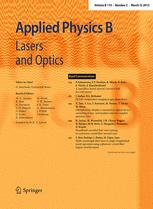 Applied Physics B