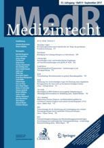 MedR - Medizinrecht