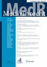 Medizinrecht