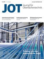 JOT Journal für Oberflächentechnik 8/2017