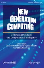 New Generation Computing cover image