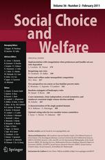 Social Choice and Welfare