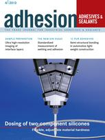 adhesion ADHESIVES + SEALANTS