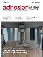 adhesion ADHESIVES + SEALANTS