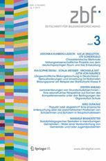 Zeitschrift für Bildungsforschung