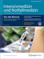 Intensivmedizin und Notfallmedizin 6/2011