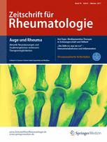 Zeitschrift für Rheumatologie 8/2017