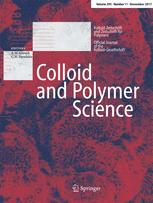 Colloid and Polymer Science 11/2017