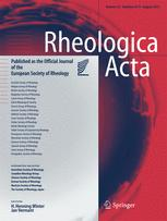 Rheologica Acta