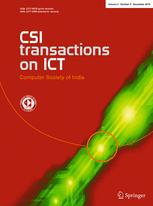 CSI Transactions on ICT