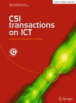 CSI Transactions on ICT