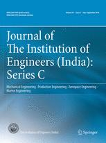 Journal of The Institution of Engineers (India): Series C