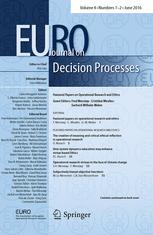 EURO Journal on Decision Processes
